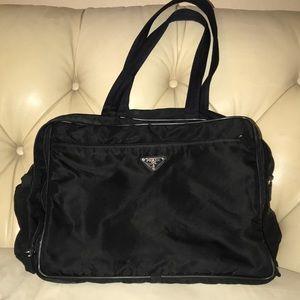 ad00c06741dc Prada Diaper/Baby Changing Bag Black
